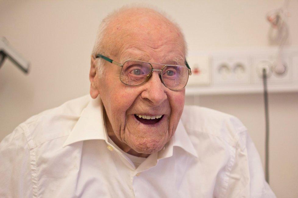 Thorvald Netteland Norges eldste mann er død, han ble 106 år gammel thumbnail