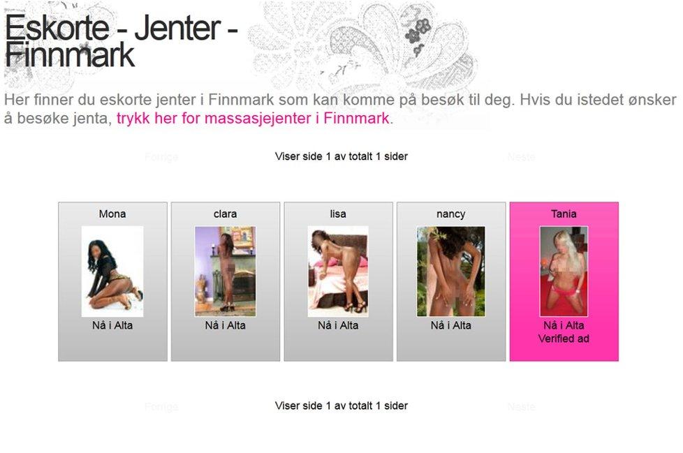 eskorte homoseksuell i finnmark sex salg