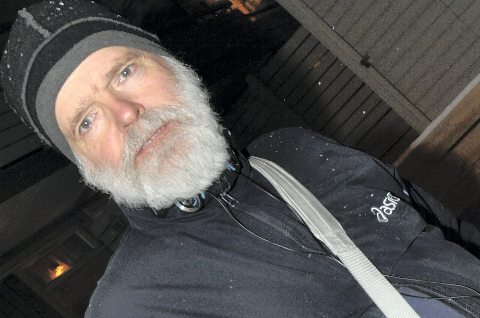 Knut Gisle Barmann, avisbud hos Adresseavisa i Trondheim. (Foto: Vegard Holm)