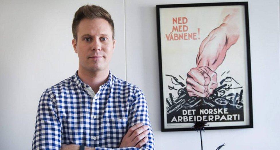 VIL PÅ STORTINGET: Leder av AUF, Eskil Pedersen, vil på Stortinget. Nå kaster han seg inn i kampen for å få tredjeplassen på stortingslista ved valget neste høst.