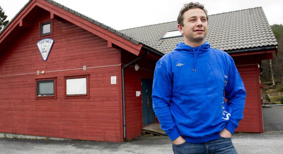 Ternes skal spare inn på gjestene, men daglig leder Lars Riis Ellingsenlover at de ikke skal innlosjeres i klubbhuset.