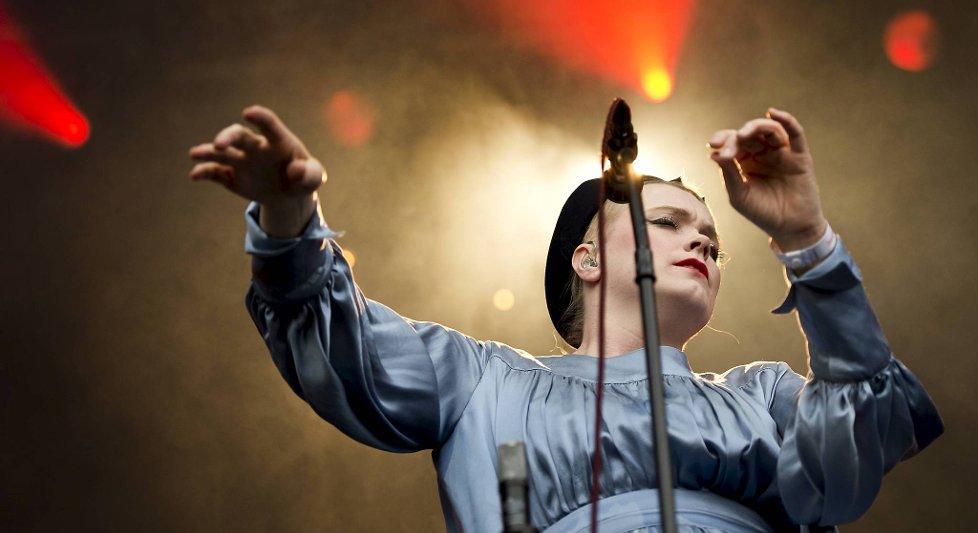 Ane Brun spilte på Plenen.
