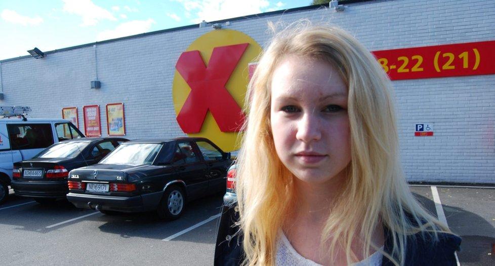 BEKLAGER:  Coop beklager at skoleelev Ina Kristiansen ble nektet adgang til butikken på Klyve da hun skulle kjøpe niste.