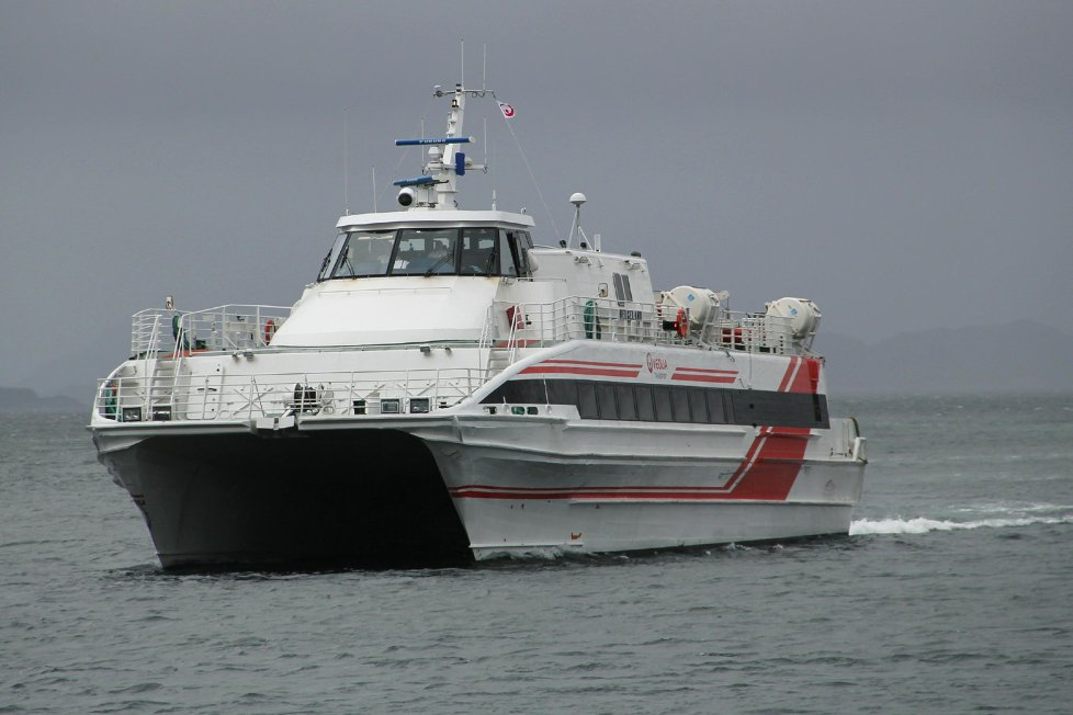 Hurtigbten M/S Helgeland