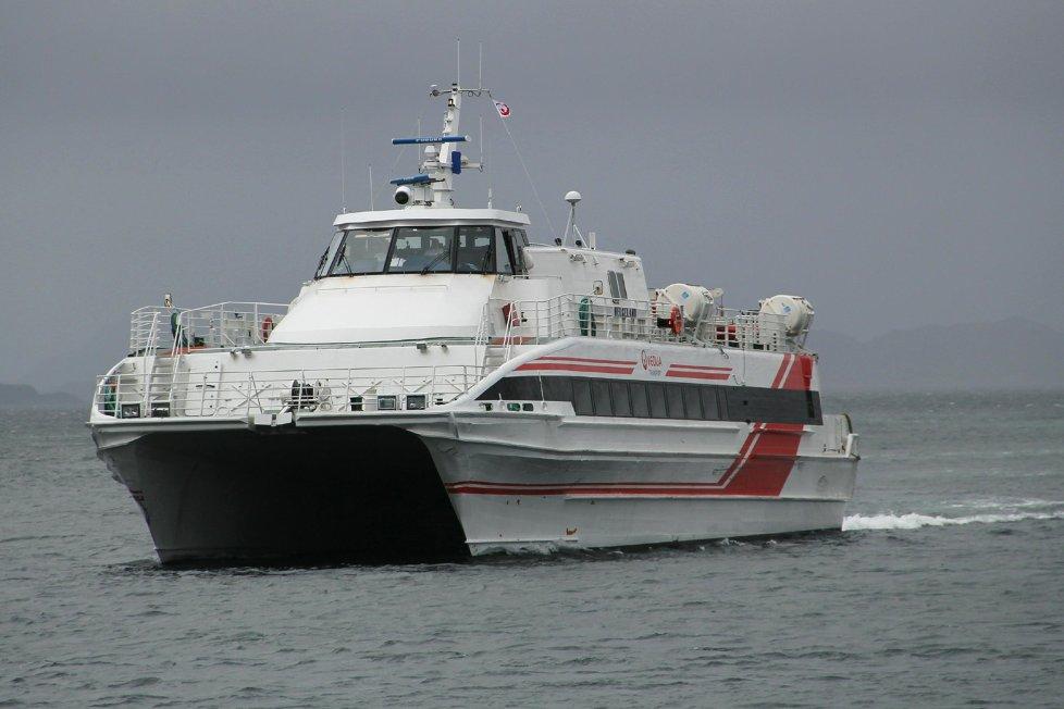 Hurtigbåten M/S Helgeland