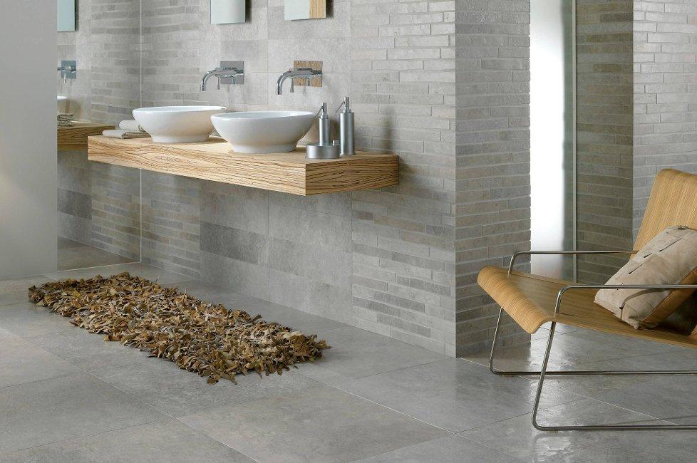 N? vil vi ha store fliser p? badet. Foto: Golvabia/ANB