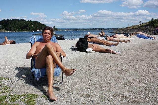 nakenkultur nudist i norge