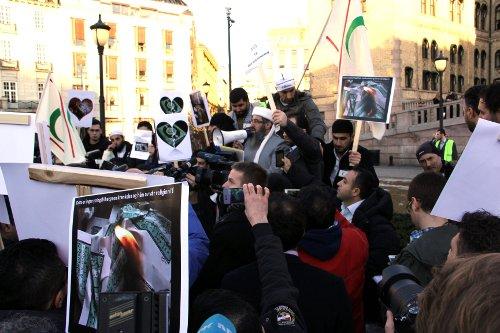 mullah krekar demonstrasjon