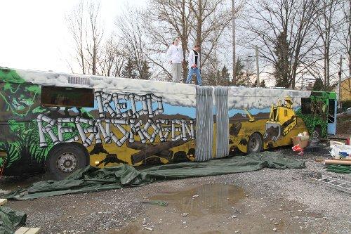 Redd regnskogen 2012 russebuss