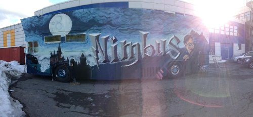 Nimbus 2013 russebuss