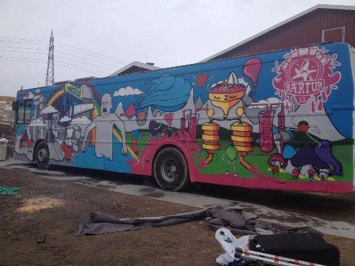 Bærtur 2013 russebuss