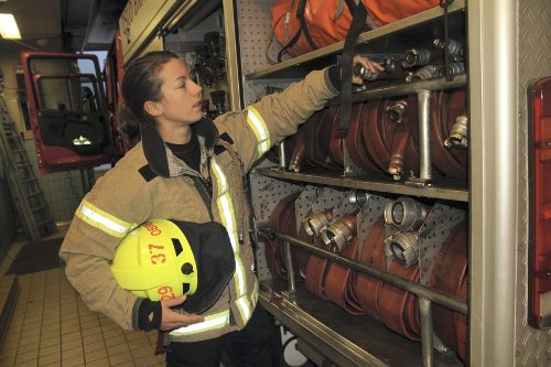 Oslojobb: Brannkonstabel
