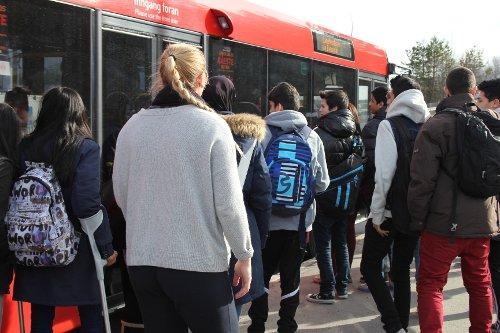 Buss trengsel