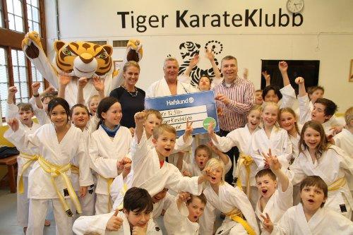 Oslofondet Tiger karateklubb