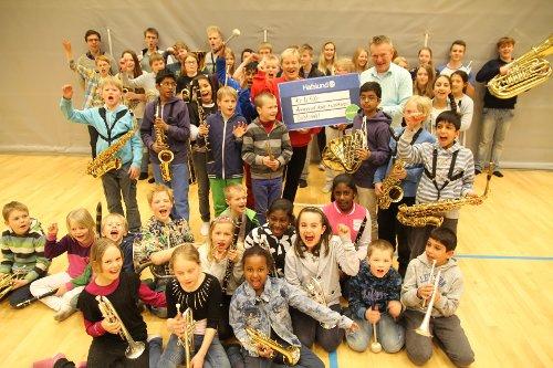 Oslofondet Ammerud skoles musikkorps