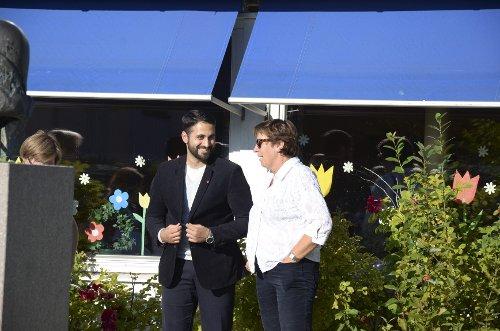 Nasir Ahmed og Marianne Borgen