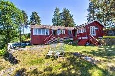 Idyllisk fritidsbolig - Fritidsbolig på Vestre Løktene i idyllisk skjærgård