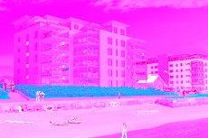 Havnegården / Larvik - Prosjektert leilighet ( nr. 403 ) i første rekke mot sjøen med fantastisk utsikt. Garasjeplass