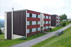 Pen 3-roms leilighet med attraktiv beliggenhet og flott utsikt!