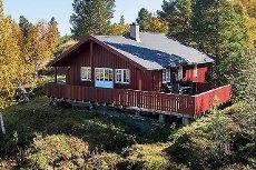 Koselig hytte med god standard, og flotte sol- og utsiktsforhold i populære Hummelfjell