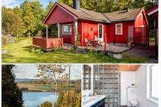 Stokke/Melsomvik - Koselig lite hus med flott tomt og utsikt til Akersvannet