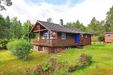 STORVANNET - Velholdt hytte med skjermet, idyllisk beliggenhet i naturskjønne omgivelser! VISNING TIRS. 7. OKT. KL. 15:00! Se video!