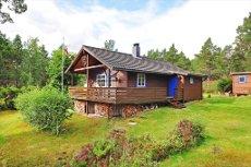 STORVANNET - Velholdt hytte med skjermet, idyllisk beliggenhet i naturskjønne omgivelser! Se video!
