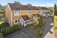 Rasta/Åsheimskog - Selveiet rekkehus over 3 plan med 3(4) soverom i meget pop. boområde. Garasje.