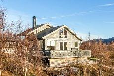 Sandhornøya - Moderne og nyere hytte med fantastisk utsikt