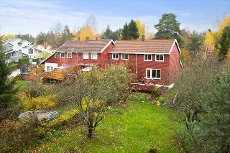 Nesoddtangen - Trivelig enderekkehus med solrik hage. Meget sentralt