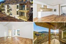Påkostet ny leilighet over 2 plan med 3 soverom og 2 terrasser. To minutter å gå til Torget.