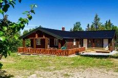 GOLSFJELLET VEST - Nyoppusset hytte med fin beliggenhet. 4 soverom, flislagt bad, vei sommer/vinter.