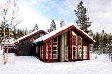 GolfAlpin - Hytte i etablert område mellom Hemsedal og Gol. 18 hulls golf bane/skiløyper i nærområdet.