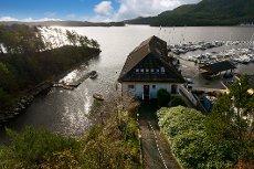 Nyoppusset leilighet i maritime omgivelser med egen båtplass.