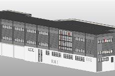 Prosjektert bygg - planlagt oppstart årsskiftet