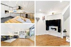 Larvik - Torstrand. Tiltalende og vesentlig oppgradert selveierleilighet med sentral beliggenhet - 2. etasje.