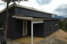 Tranøy, Hamarøy - Ny hytte ved sjøen/ råbygg