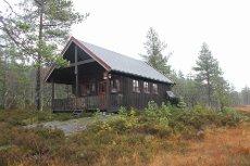 Jordalsbø / Tangen - Flott hytte i naturskjønne omgivelser med gode solforhold