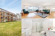 BJØRKELANGEN: Moderne og stilfull 3-roms selveierleil-Heis og garasjeplass-Solrik balkong-Sentralt og meget attraktivt!