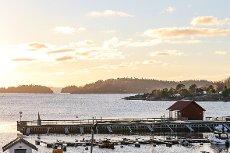 Flott 4-roms leilighet med fantastisk utsikt, på Brygga i Son. Bør sees.