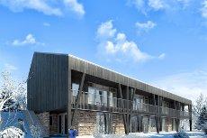 Sjusjøen Fjellstuer - 1 SOLGT - 6 prosjekterte leiligheter med attraktiv beliggenhet rett ved Birkebeinerløypa