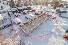 Ratunet - Projekterte eneboliger i rekke med garasje. Moderne boliger med praktisk planløsning.