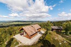 Pen fritidseiendom med flott utsikt i Hummelfjell