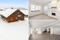 Hole - Nedre Steinsåsen - Enebolig med fin beliggenhet og utsikt til Steinsfjorden, i rolig og barnevennlig boligområde