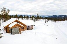 GOL - SJAUSET/ GRØNLIO - Nyoppført hytte i flott naturomgivelser og skiløyper. Kort kjøreavstand til Hemsedal.