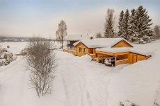 Hurdal - Enebolig med alt på ett plan/Selveier tomt - Flott utsikt til Hurdalssjøen - Gode solforhold - Barnevennlig