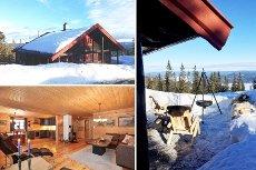 Vikerfjell, Ringerudsetra - Flott hytte m/4 sov og 2 stuer. Vei, vann og strøm. Solrikt m/nydelig utsikt.
