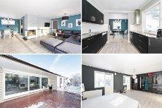 SØRUMSAND - Oppgradert og innholdsrik enebolig over to plan med garasje, hage og fine uteplasser.