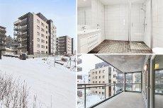 Søster Mathildes Hage - Ny og flott 3-roms leilighet med meget god planløsning - Sørvendt balkong - Garasjeplass