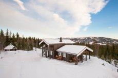 Grong skisenter - Nyere fritidsbolig med flott beliggenhet. Meget godt vedlikeholdt.